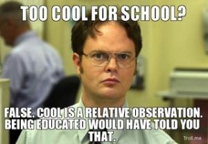 too cool false