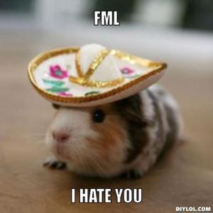 fml hamster